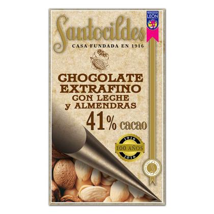 Chocolate Extrafino con leche y Almendras enteras 200 grs