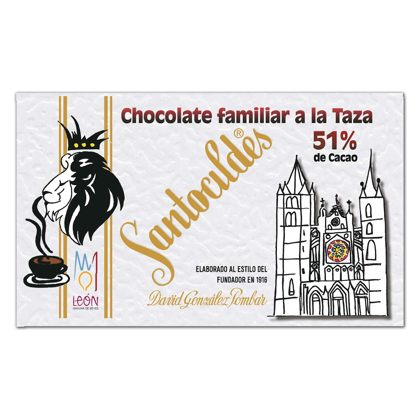 Chocolate a la Taza 51% Cacao Familiar 350 grs.