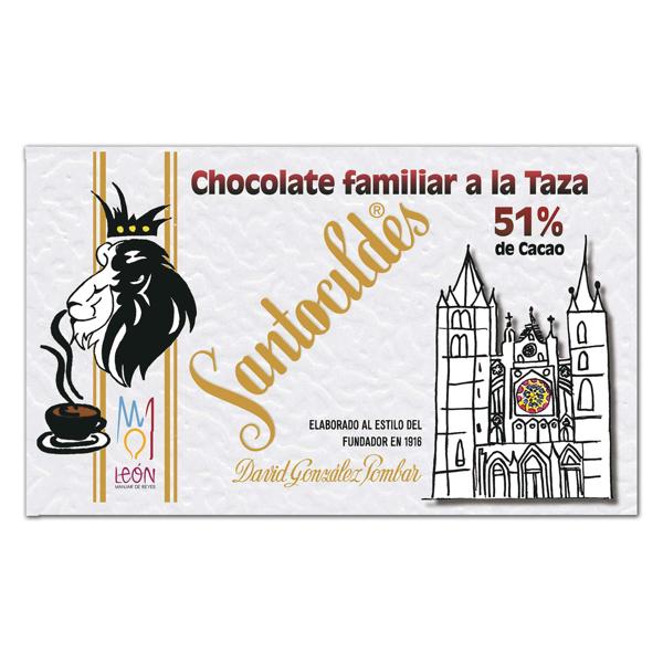 Chocolate a la Taza 51% Cacao Familiar 350 grs.