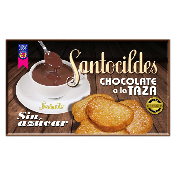 Chocolate a la Taza sin Azúcar 200 grs